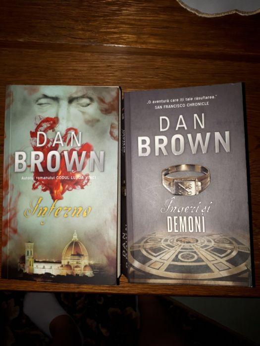 Interni și îngeri si demoni Dan Brown