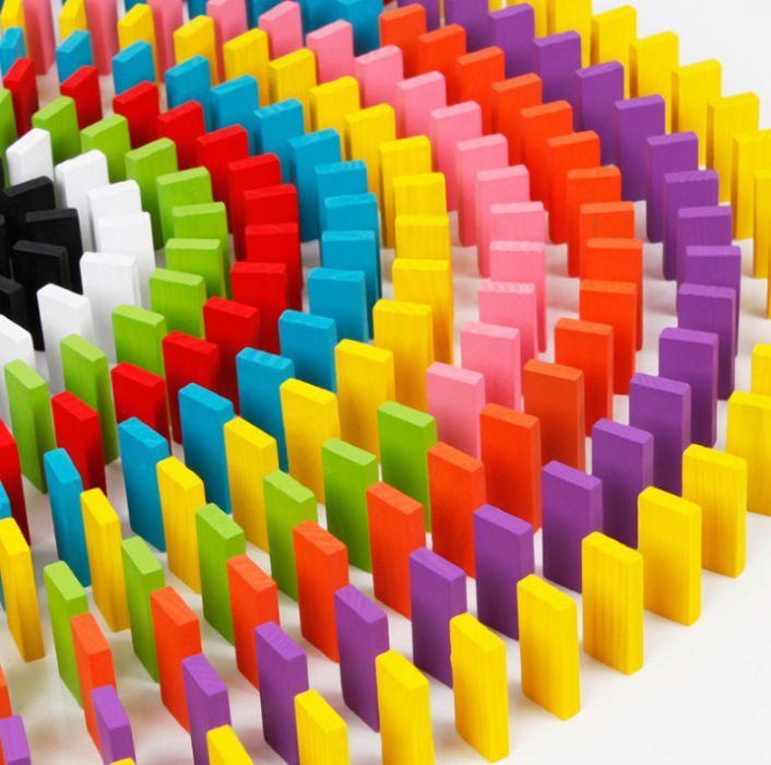 1000 блокчета дървено цветно домино ТОП ОФЕРТИ! ВСИЧКО С ДЪРВО