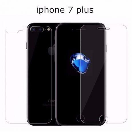 Folie din Silicon Fata +Spate iPhone 6, 6s, 7, 7Plus Antisoc!