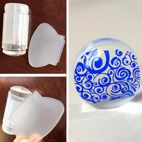 Прозрачни печати за нокти (маникюр)