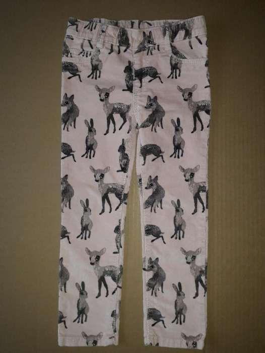 Pantaloni catifea reiata H&M 104 cm