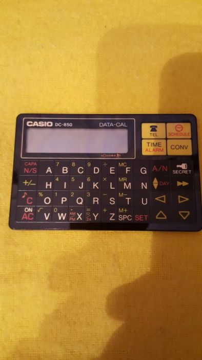 Casio DC-850 DATA-CAL