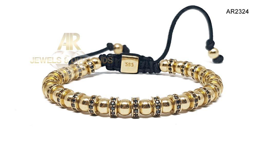 Bratara Aur 14 K model nou ARJEWELS&DIAMONDS(AR2324)