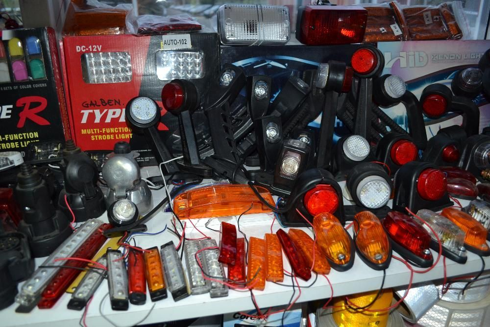 Lampi de STOP lampa triple camion remorca TIR - Lampi de gabarit LED Bucuresti - imagine 8