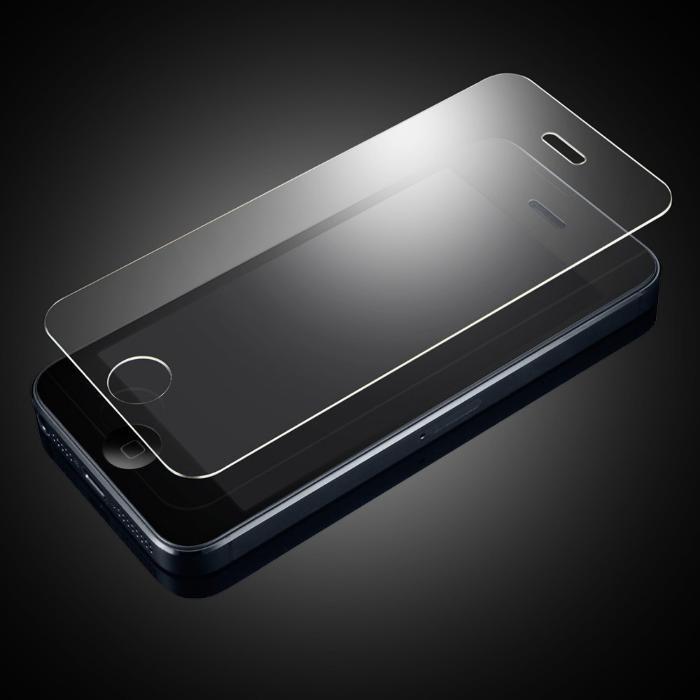 Стъклен протектор за iPhone 5 5G 5C 5S преден закалено стъкло скрийн п
