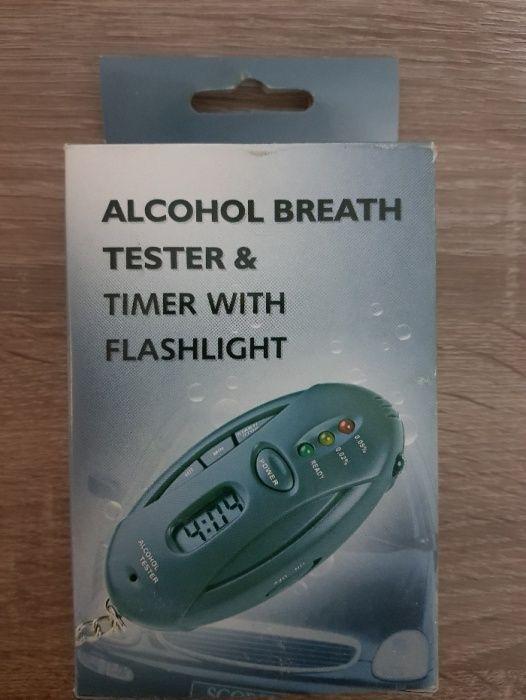 Vand Tester alcool cu ceas si led-uri avertizare!