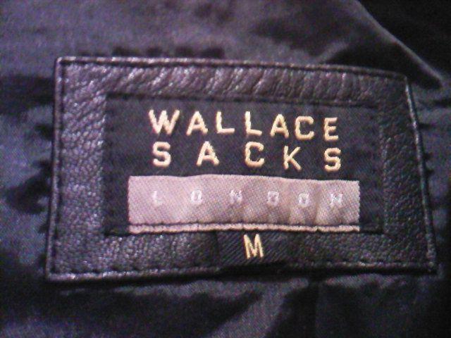 Haina piele neagra barbati marca prestigiu Wallace Sacks, Londra