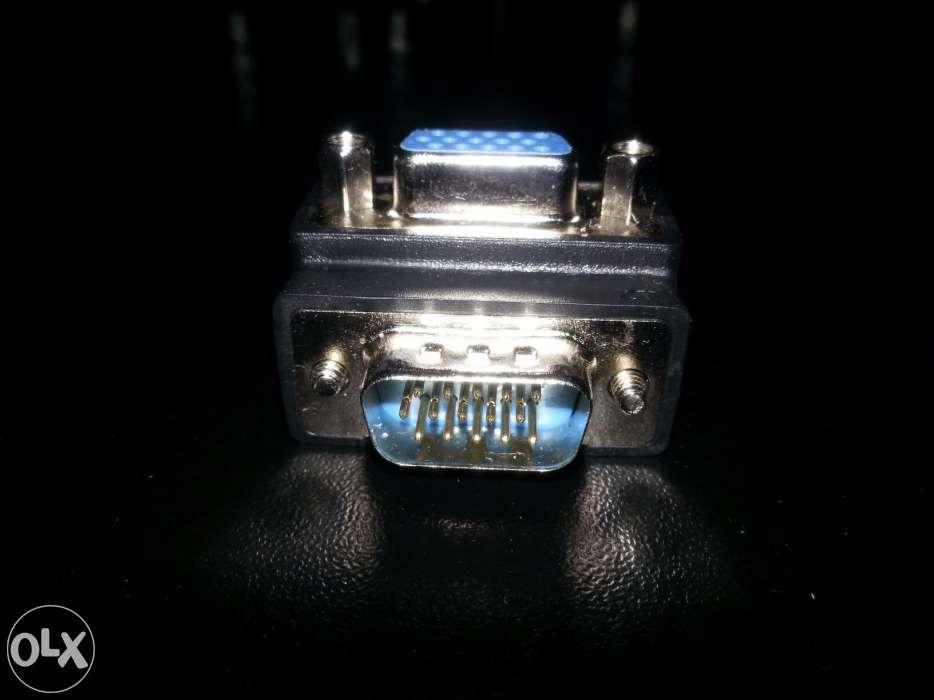Vand conector mama/tata VGA 90° colt 30 lei