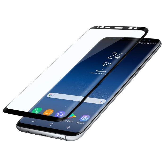 Стъклен протектор за Samsung Galaxy S9+ S9 Plus G965 FullFace черен B