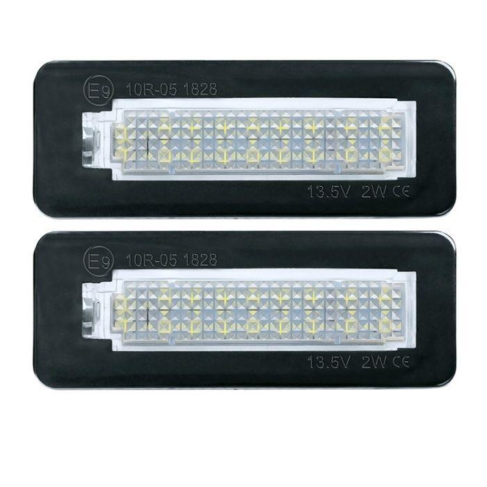 Set lampi numar Led pt Mercedes Smart fortwo W450 ,W451 ,W453 , 2buc