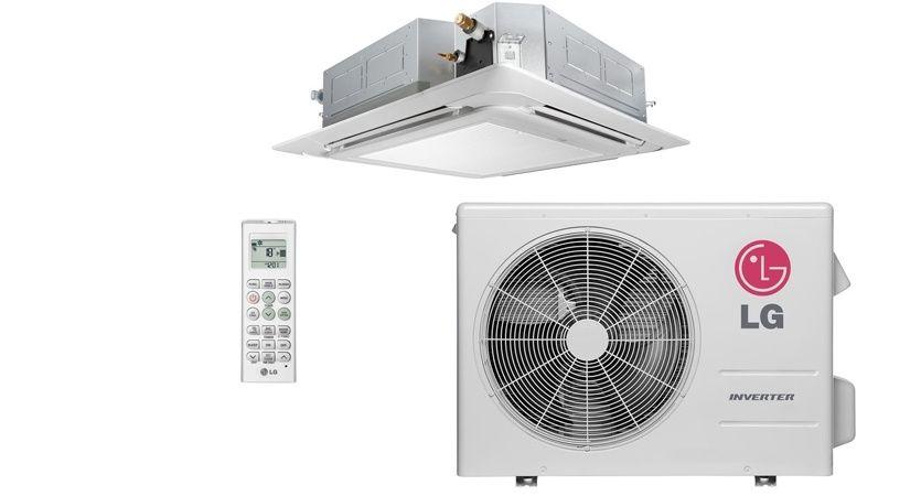 Montagem de ar condicionado cassete