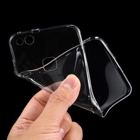 Комплект силиконов гръб и стъклен glass протектор за HUAWEI P10 Lite