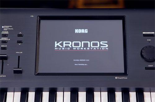 Display KORG KRONOS 1 2 X cu touch screen ecran lcd