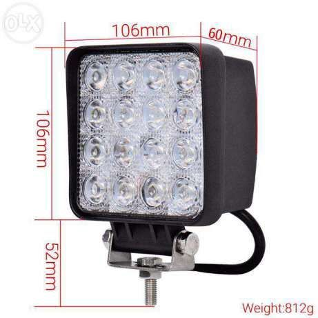 Proiector led 48w-proiector led auto OFFROAD -