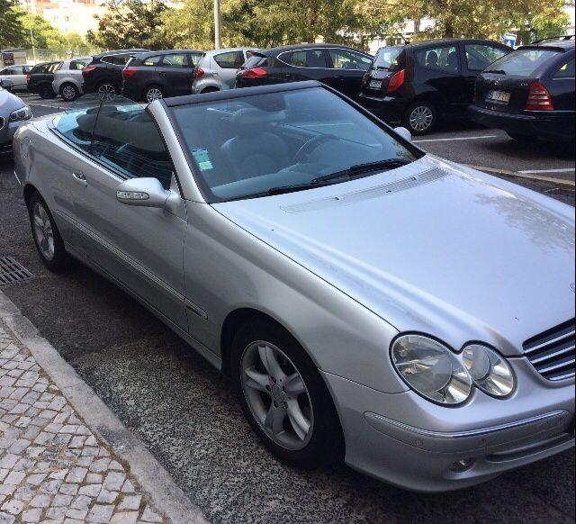 Mercedes CLK descapotável