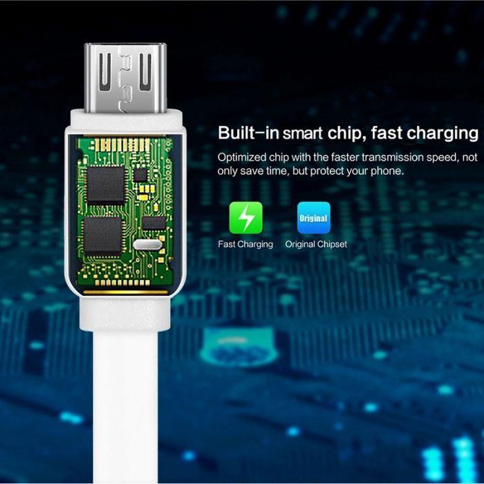 Кабел за зареждане / пренос на данни Type C или Micro USB Fast гр. Варна - image 2