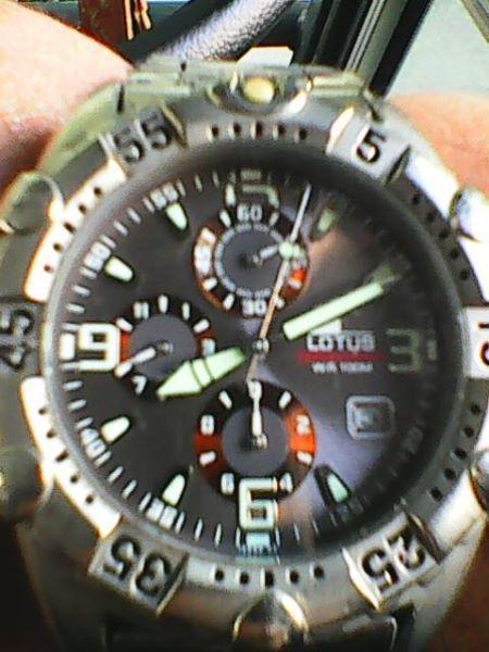 Мъжки часовник LOTUS chronograph