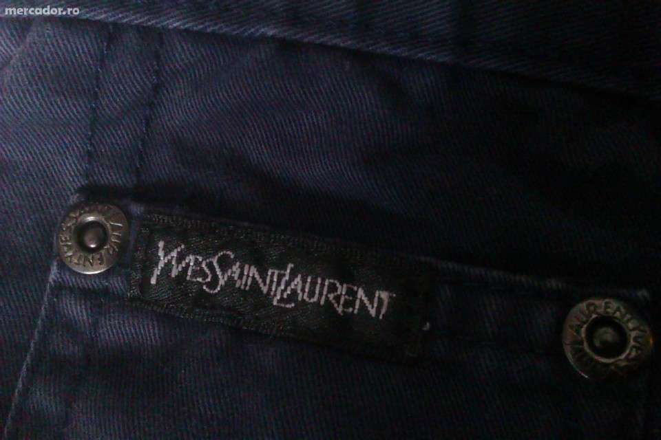 Pantaloni Yves Saint Laurent- ofertă