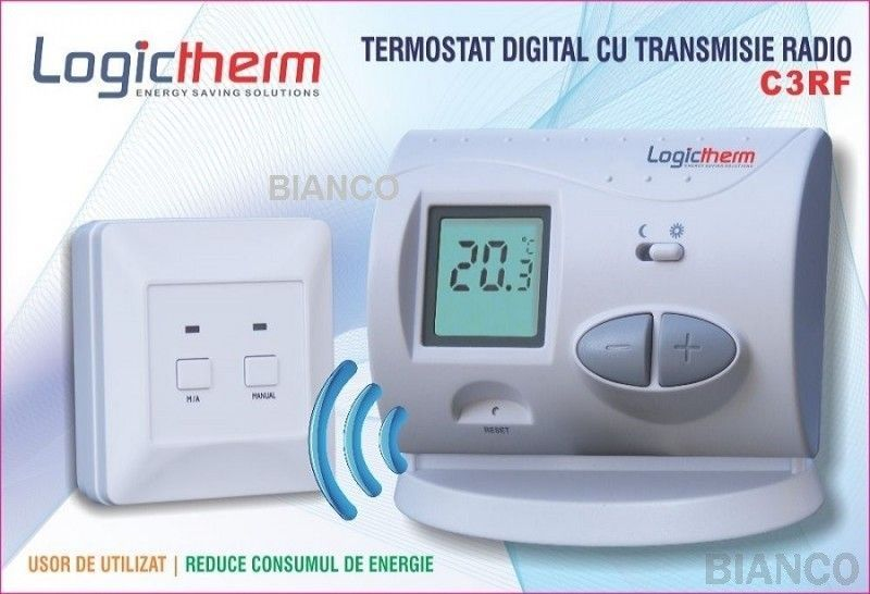 termostat ambient universal logiterm C3RF(wireless)