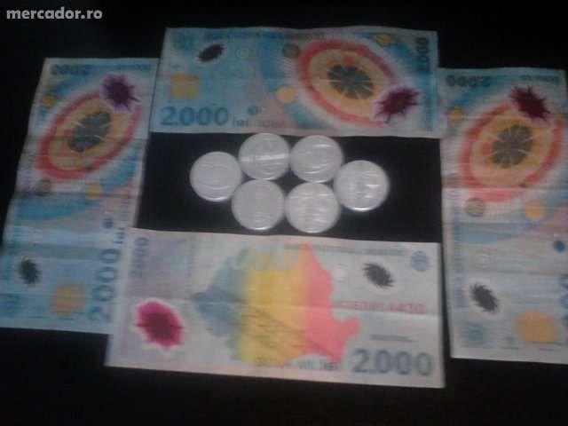 bancnote si monede cu eclipsa