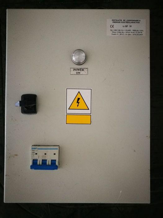 Tablou trifazic cu baterie instalatie de compensare energie reactiva