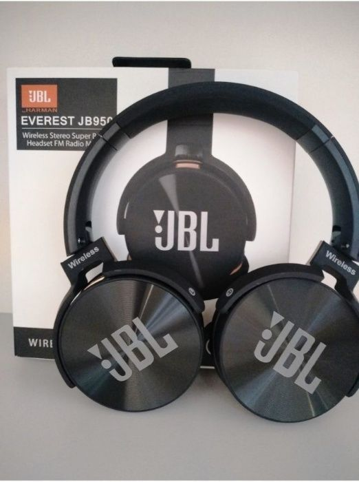 Vendo fone de ouvido jbl everest 950 bluetooth com sd de 2gb memoria