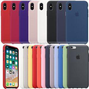 Iphone 7 7+ 8 8+ X 10 - Husa Silicon Interior Catifea Rosie Neagra Ros