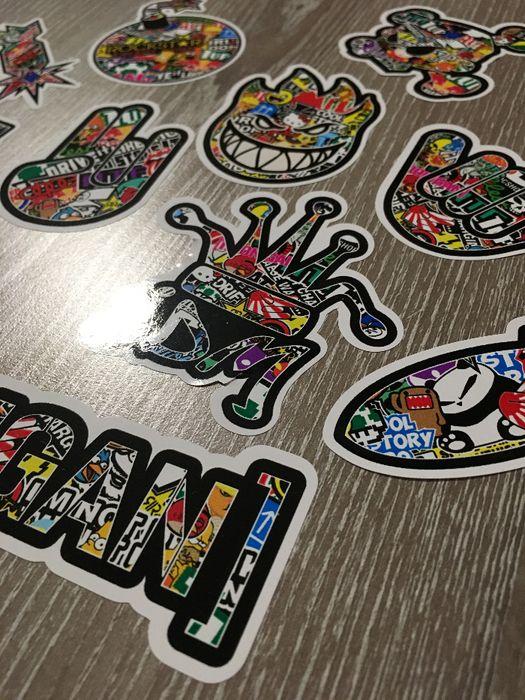 Стикери Sticker Бомб BOMB 13 бр. СУПЕР качествени PVC фолио стике гр. Стара Загора - image 5