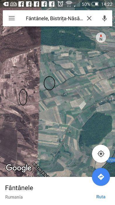 Vanzare  terenuri agricol  40 ha Bistrita Nasaud, Matei  - 18000 EURO