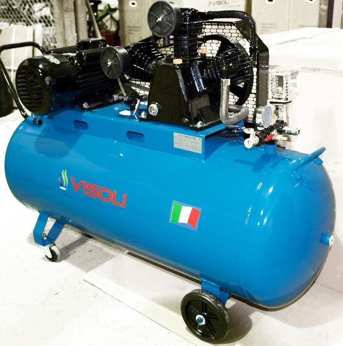 Compresor de aer 200L 10 bari Visoli 220V sau 380V Timisoara - imagine 3