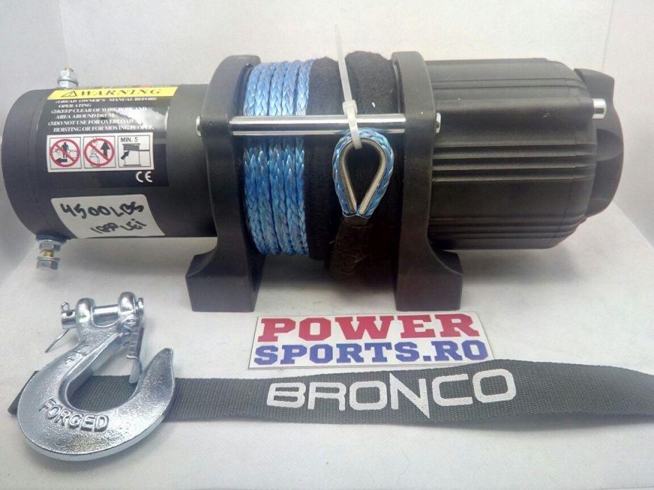 Troliu cabestan winch ATV Bronco HighPower 4500lbs / 2042kg