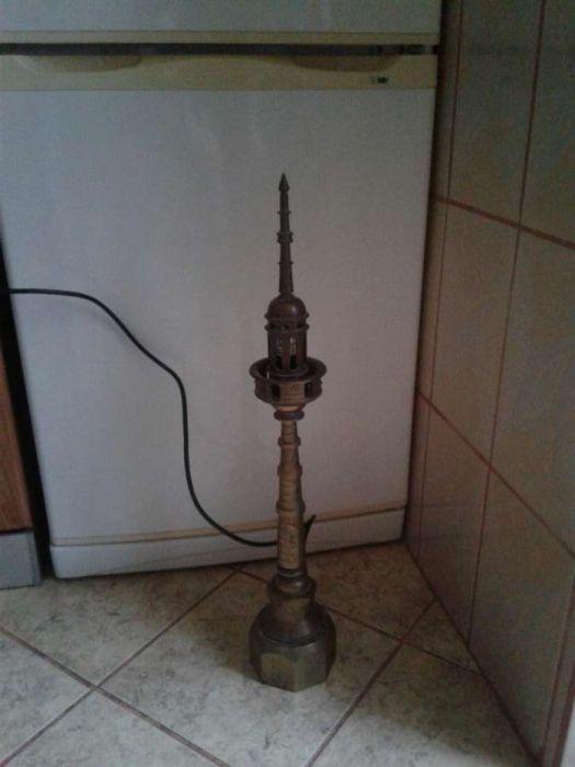 Lampa veche din alama. Custommade/steampunk/industrial