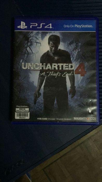 Jogo de ps4 Uncharted 4 . Consola - jogo