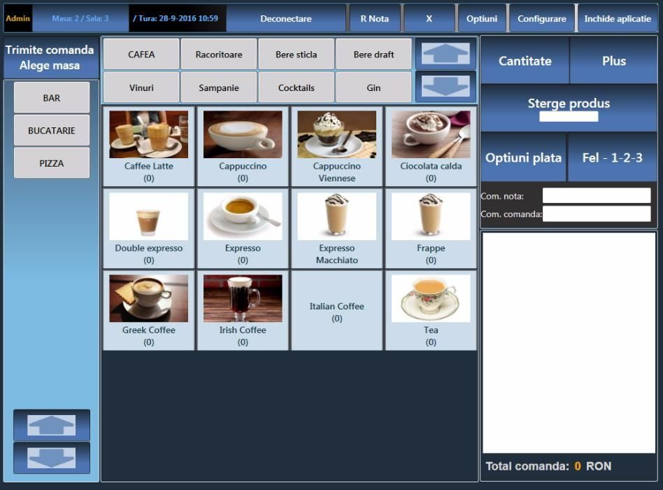 SOFTWARE Soft gestiune restaurant - Bar magazin Pos