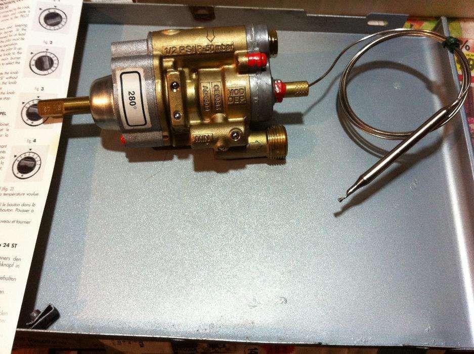 Robinet termostatic gaz NOU pentru fry top/grill Angelo Po
