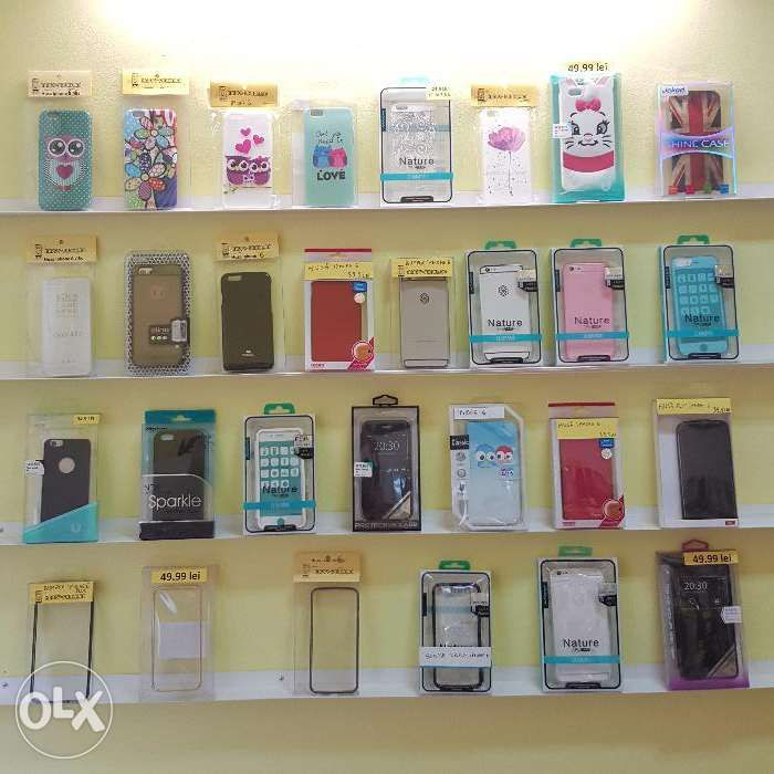 Huse iphone 6 6s silicon, plastic, print, bufnita, diferite modele