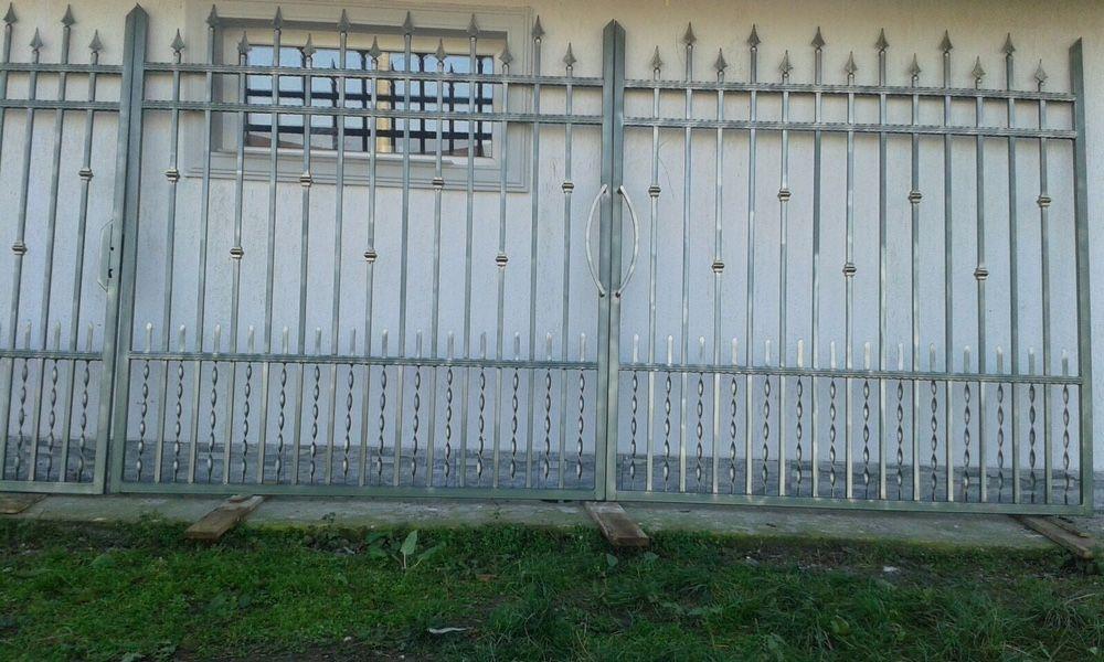 Porti din fier forjat,Porti metalice la cel mai bun pret,Gard metalic.