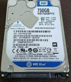Disco duro de 750GB pra notebook