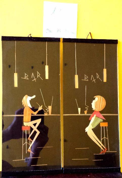 Tablou pictura - 2 Tablouri BAR, El si Ea