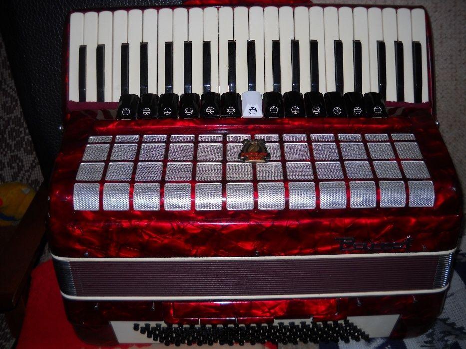 vand acordeon parrot mare cu voce de orga la 500 euro, 13/1/6 registre