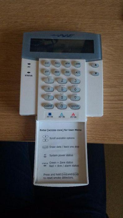 Tastatura + Display Sistem Alarma Paradox DGP-848