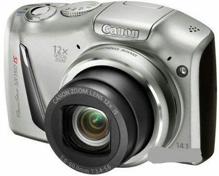 Фотоаппарат Canon Powers hot SX150 IS