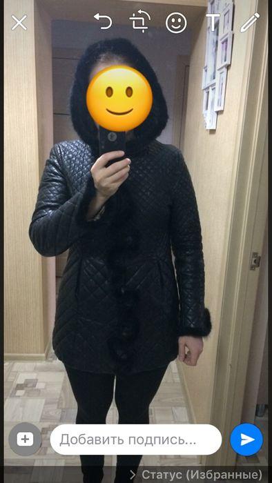 Продам кожаную куртку весна/осень