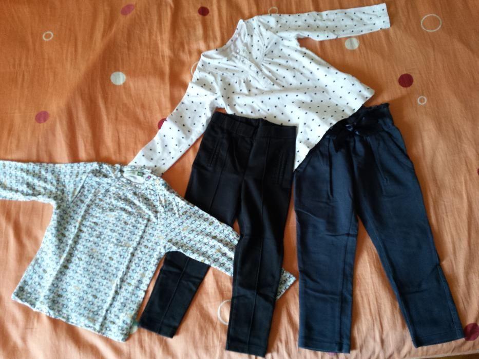 панталон, клин на Breeze и фланели на Premaman и Lupilu