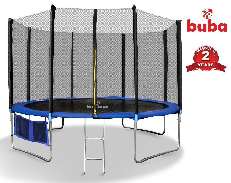 Buba Детски батут 12FT (366 см) с мрежа и стълба