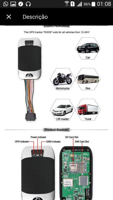 Tracker GPS/GPRS