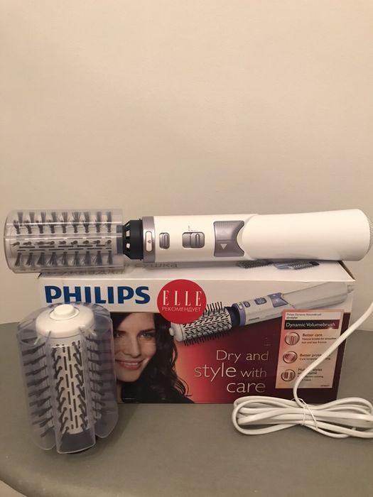 Philips фен-щетка для объёма волос