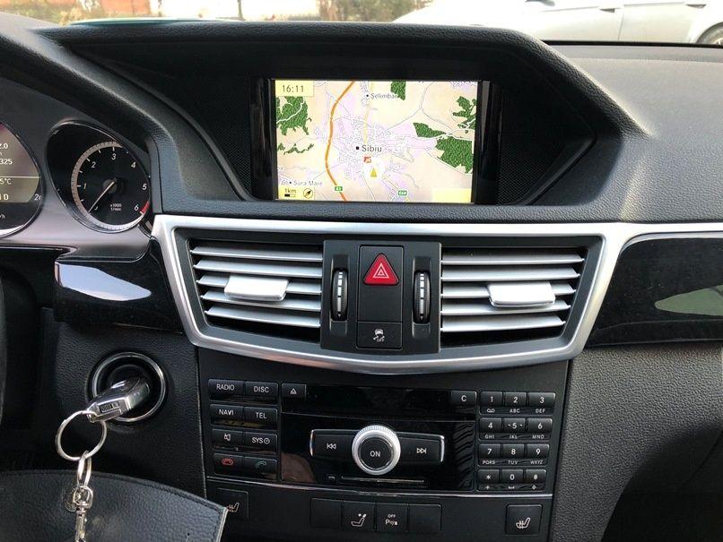 Harti navigatie Mercedes 2018 E Class W212 CLS Europa + ROMANIA 2018