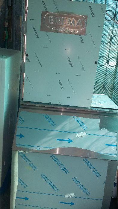 Máquina de fazer gelo com depósito
