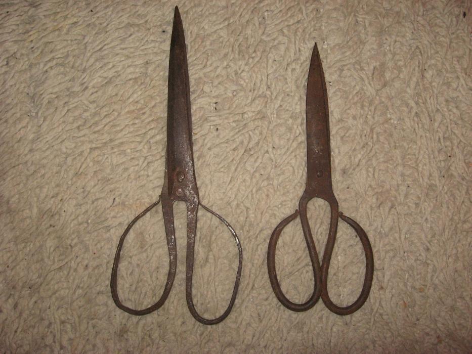 Етнографски стари ножици на 150г.